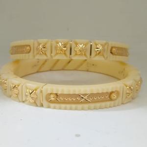22kt gold plastic fancy chudi