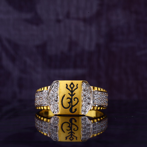 916 gld cz ring mgr118