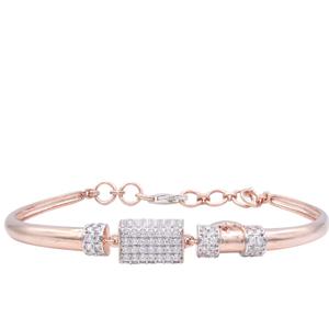 18k rose gold nice ladies bracelet