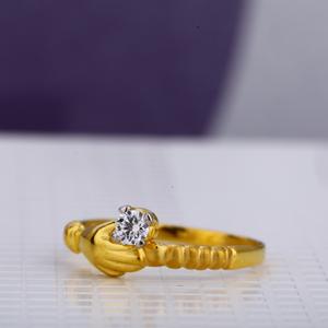 916 ladies classic single stone ring lsr62