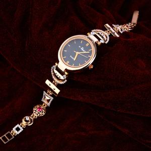750 rose gold  women's stylish watch rlw152