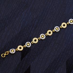 Ladies gold bracelet-lb120
