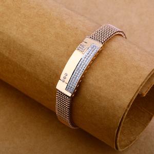 18ct rose gold exclusive bracelet mlb103