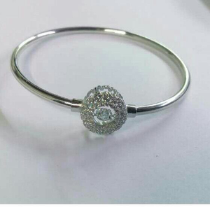 925 silver light weight flexible bracelet