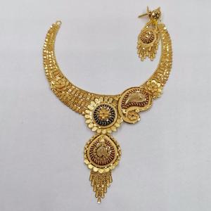 Necklace nk 62 beautiful petals shaped