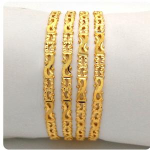 Gold hallmark rawa bangle - 2lr1120