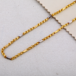916 gold mens exclusive choco chain mch618