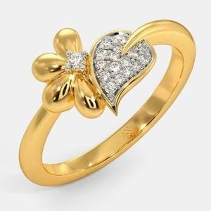 916 gold cz ladies ring lr-0012