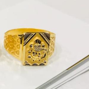Gold gents ring gj-0003