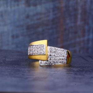 Mens gold casting 22k ring-mr384