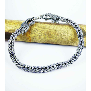 B.k.k 925 silver high finish gents bracelet
