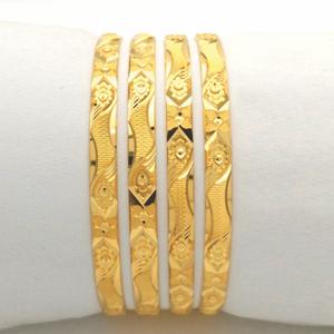 Gold hallmark khila bangle - hkp1098