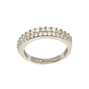 925 sterling silver diamond lining ring mga -