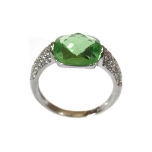 925 sterling silver colour stone ring mga - l