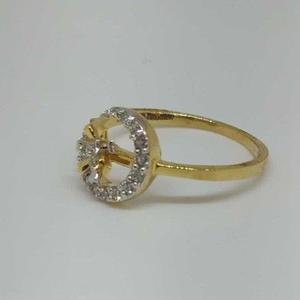 Real diamond branded ladies ring