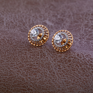 750 rose stylish earring re79