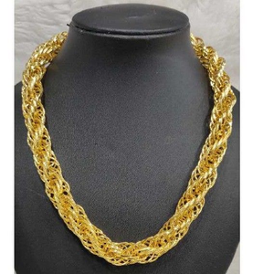 Men's 916 gold indo chain no-5624