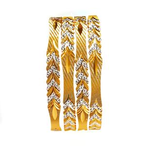 22k gold designer bangles mga - gb0003