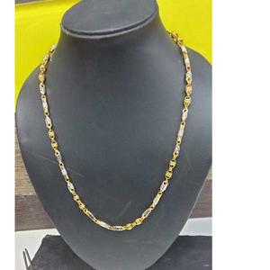 22k gents fancy gold chain g-9004