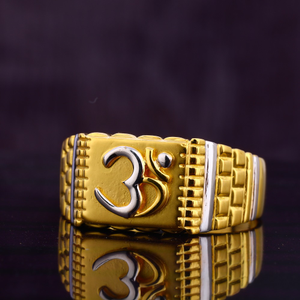916 gold aum  men's ring mgr167