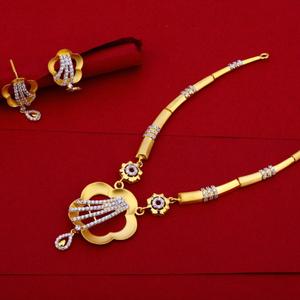 Necklace set cz 916