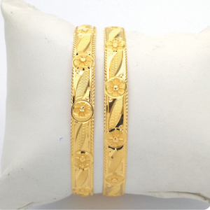 Gold hallmark khila bangle - hks1015