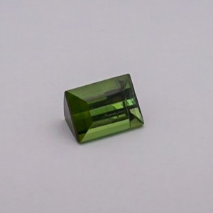 5.530ct square green tourmaline