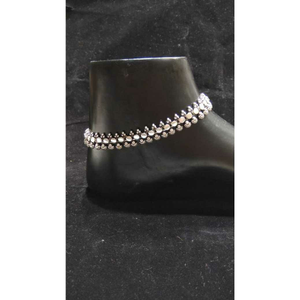 92.5 sterling silver luxurious anklet(payal)
