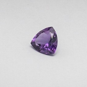 5.260ct trillion purple amethyst
