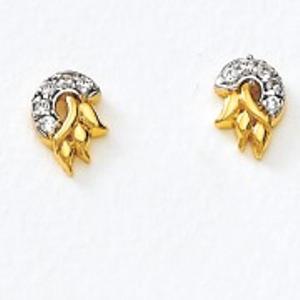 22kt gold earring er-479