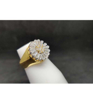 18k ladies italian ring
