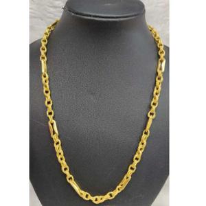 Men's 916 gold indo chain no-5607