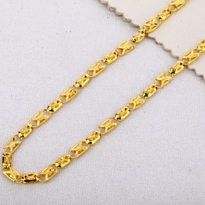 916 gold mens hallmark stylish choco chain mc