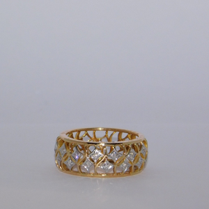 18k gold diamond ring agj-lr-272