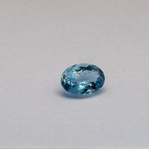 3.590ct oval sky-blue aquamarine
