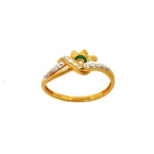 22k gold designer ring mga - lrg0009