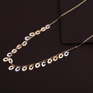 18kt rose gold designer hallmark necklace rtm