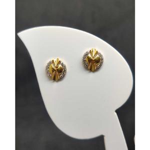 22k ladies fancy earrings