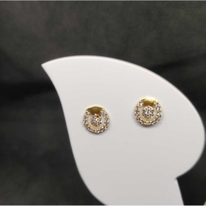 22k ladies fancy tops earring