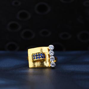 22ct gold stylish ring lr136