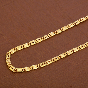 Mens 916 gold chain-mnc22