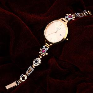 Rose gold fancy 18k watch-rlw54