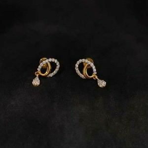 22k ladies gold earrings no-20003