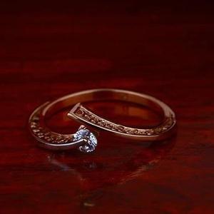 18kt rose gold ladies premium ring rh-lr90