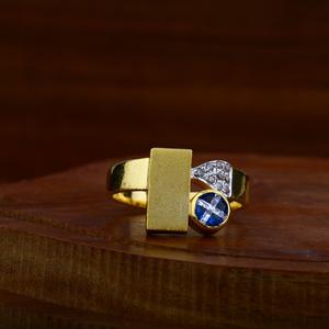 22kt gold antique ring lar33
