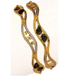 22k / 916 gold modern vakiya kadli ( pieces )