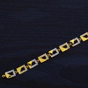 Ladies gold 22k bracelet-lb45