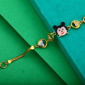Kids 916 gold bracelet-kb10