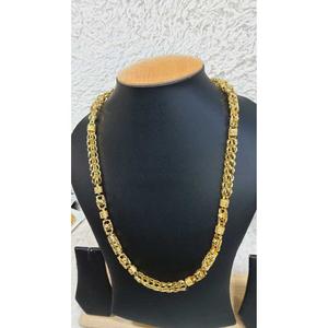 22k gents fancy gold chain g-8507