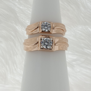 Solitar couple ring